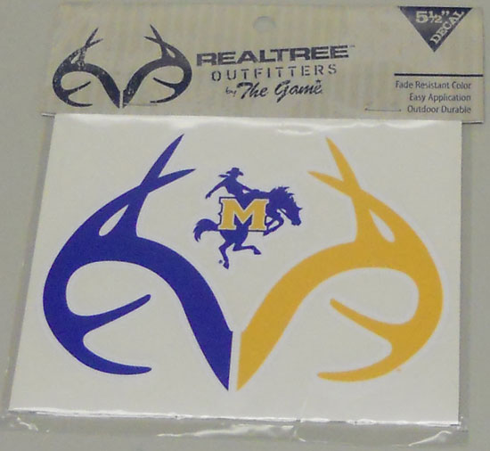Cover Image For DECAL ANTLERS RYL/GLD