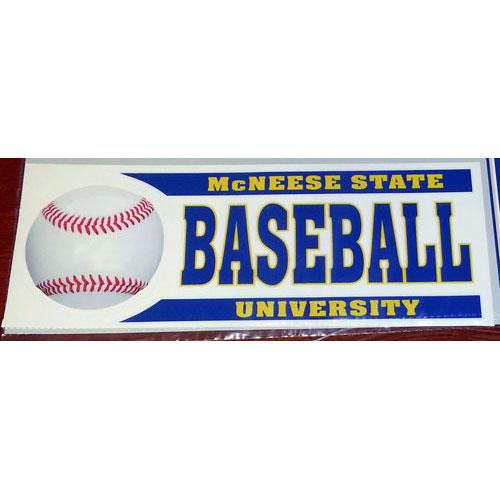 Image For DECAL BASEBALL BAR