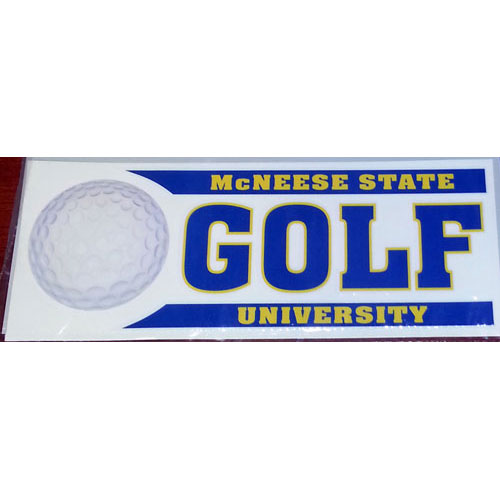 Image For DECAL GOLF BAR
