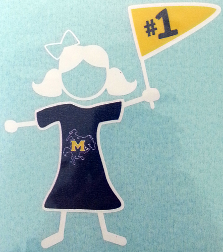 Cover Image For DECAL GIRL STICK MSU