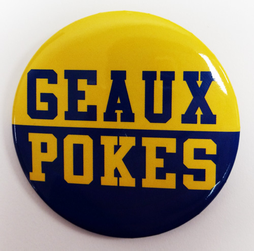 Image For BUTTON GEAUX POKES