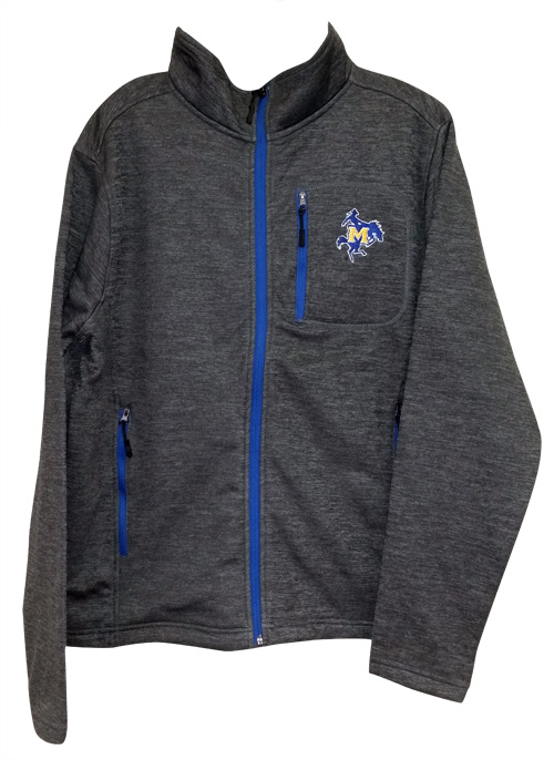 Image For 1/4 ZIP GRY FLC RYL ZIP