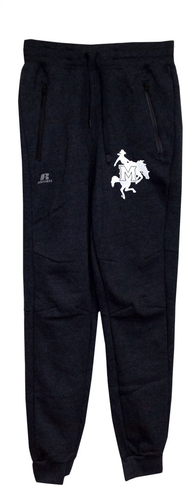 Image For PANT GRY JOGGER WHT LOGO