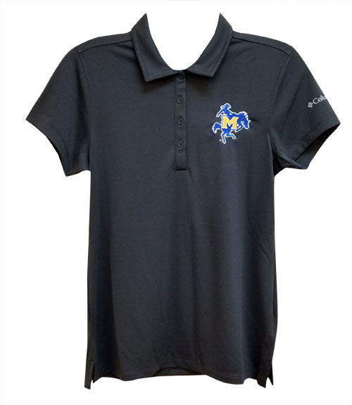Image For POLO GRY WMN LOGO OMNI