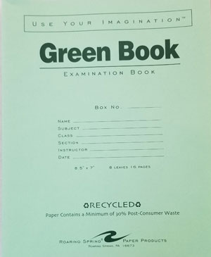 Image For SMALL GREEN BOOK