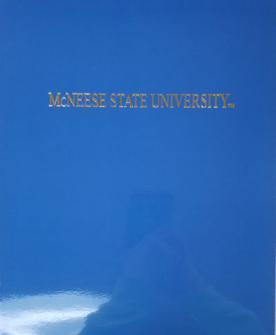 Image For FOLDER BLU W/GLD FOIL MSU