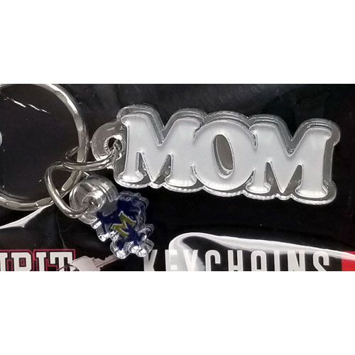 Image For KEYCHAIN LOGO MOM ACRY