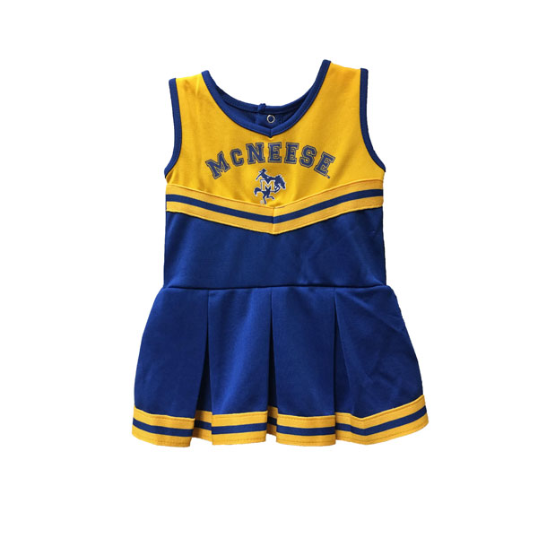 Image For CHEER DRESS INF RYL/GLD